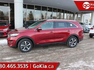 New 2019 Kia Sorento EX V6; AWD, LEATHER, PUSH START, 7 PASS, HEATED SEATS/WHEEL, BACKUP CAMERA, BLIND-SPOT/CROSS TRAFFIC ALERT, ANDROID AUTO/APPLE CAR PLAY for sale in Edmonton, AB