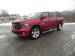 Used 2015 RAM 1500 SPORT LIMITED CREW CAB 4X4 HEMI for sale in Brantford, ON