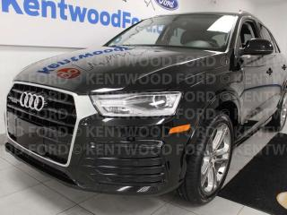 Used 2018 Audi Q3 Progressive AWD quattro, sunroof, heated power leather seats, push start/stop, back up cam for sale in Edmonton, AB