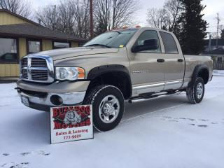 Used 2005 Dodge Ram 3500 SLT DIESEL for sale in Glencoe, ON