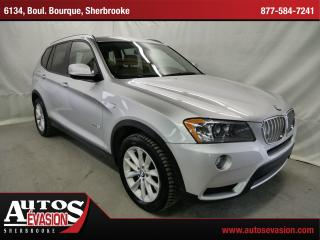 Used 2013 BMW X3 Xdrive Xdrive for sale in Sherbrooke, QC