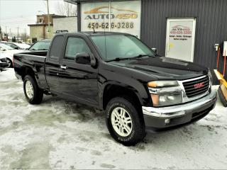 Used 2010 GMC Canyon ***,4X4,BAS KILOMETRAGE*** for sale in Longueuil, QC