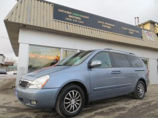 Used 2011 Kia Sedona 7 PASSENGERS,LEATHER,SUNROOF,BACK UP CAMERA,NAVI for sale in Mississauga, ON