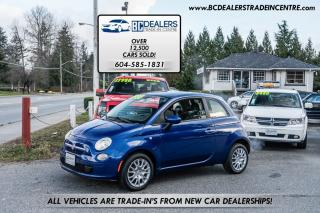 Used 2012 Fiat 500 Pop Edition, Low 123k, New Tires, No Accidents! for sale in Surrey, BC