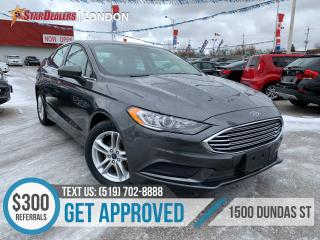 Used 2018 Ford Fusion SE | 1 OWNER | CAM | POWER SEATS for sale in London, ON
