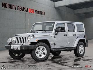 Used 2015 Jeep Wrangler Unlimited Sahara*Heated Seats*Bluetooth*BFG k02s for sale in Mississauga, ON