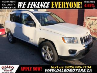 Used 2012 Jeep Compass Sport|4 WHEEL DRIVE|82KMS|FINANCE TODAY! for sale in Hamilton, ON