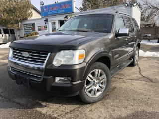 Used 2006 Ford Explorer 4dr 4.6L Limited 4WD  7!seats leather 4x4 sunroof for sale in Brampton, ON