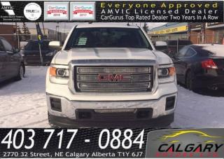Used 2014 GMC Sierra 1500 4WD DOUBLE CAB STANDARD BOX SLE for sale in Calgary, AB