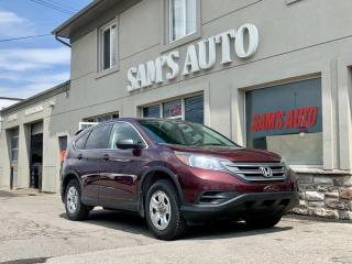 Used 2013 Honda CR-V AWD 5dr LX for sale in Hamilton, ON
