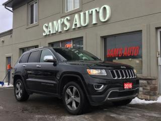 Used 2016 Jeep Grand Cherokee 4WD 4DR for sale in Hamilton, ON