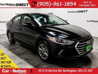 Used 2018 Hyundai Elantra SE| SUNROOF| BLIND SPOT DETECTION| for sale in Burlington, ON
