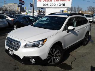 Used 2016 Subaru Outback Prl White 3.6R Limited Eyesight/Navi/Leather/Sunroof/Cam for sale in Mississauga, ON