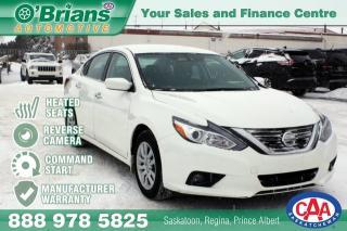 Used 2018 Nissan Altima 2.5 S w/Mfg Warranty for sale in Saskatoon, SK
