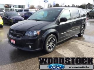 Used 2017 Dodge Grand Caravan GT  - Bluetooth -  Leather Seats for sale in Woodstock, ON