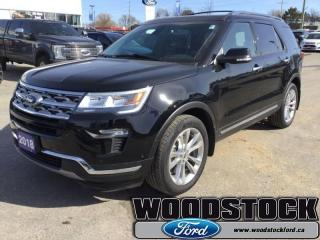 Used 2018 Ford Explorer Limited  - Sunroof -  Navigation for sale in Woodstock, ON