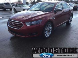 Used 2018 Ford Taurus Limited  - Sunroof -  Navigation for sale in Woodstock, ON