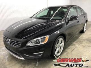 Used 2016 Volvo S60 T5 Awd Cuir for sale in Shawinigan, QC