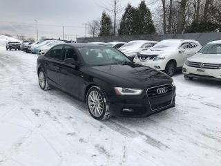 Used 2015 Audi A4 QUATTRO CUIR TOIT for sale in St-Constant, QC