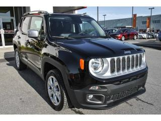 Used 2017 Jeep Renegade LTD AWD CUIR TOIT for sale in St-Constant, QC