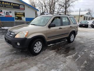 Used 2006 Honda CR-V AWD 234k safetied SE for sale in Madoc, ON