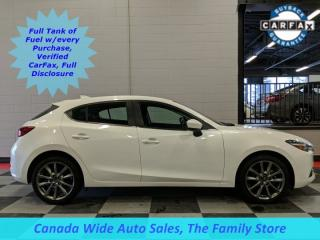 Used 2018 Mazda MAZDA3 Sport GT, Navigation, Sunroof, Back Up Camera for sale in Edmonton, AB