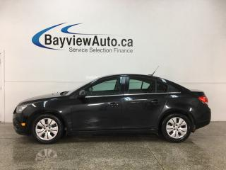 Used 2014 Chevrolet Cruze 1LT - 6SPD! BUDGET BUDDY! ONSTAR! BLUETOOTH! A/C! CRUISE! PWR GROUP! for sale in Belleville, ON