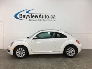 Used 2014 Volkswagen Beetle 2.0 TDI Comfortline - PANOROOF! HTD SEATS! A/C! ALLOYS! for sale in Belleville, ON