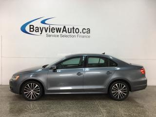 Used 2014 Volkswagen Jetta 2.0 TDI Highline - 6SPD! HTD LTHR! SUNROOF! PUSH START! BLUETOOTH! for sale in Belleville, ON
