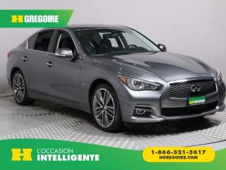 Used 2015 Infiniti Q50 AWD CUIR TOIT NAV for sale in St-Léonard, QC