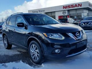 Used 2015 Nissan Rogue SL AWD w/all leather,NAV,panoramic roof,heated seats,rear cam for sale in Cambridge, ON