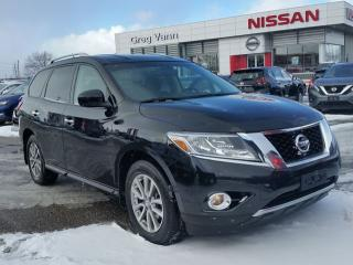Used 2016 Nissan Pathfinder SV 4WD w/climate control,heated seats,rear cam,3rd row,sxm radio for sale in Cambridge, ON