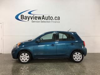 Used 2017 Nissan Micra - AUTO! BLUETOOTH! A/C! CRUISE! PWR GROUP! for sale in Belleville, ON