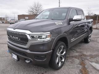 New 2019 RAM 1500 Limited|4X4|LEATHER|NAV|LANE KEEP ASSIST|DUAL PANO for sale in Concord, ON