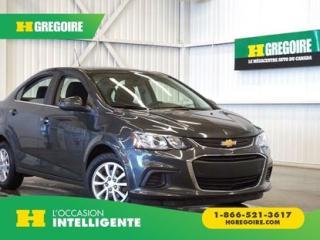 Used 2017 Chevrolet Sonic Lt Caméra De Recul for sale in St-Léonard, QC