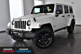 Used 2015 Jeep Wrangler ALTITUDE | 2 TOITS+GPS+CUIR+3.73 for sale in St-Jean-Sur-Richelieu, QC