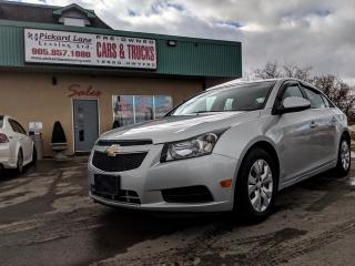 Used 2014 Chevrolet Cruze 1LT $71.06 BI WEEKLY! $0 DOWN! CERTIFIED!!!!!! for sale in Bolton, ON