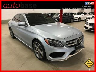 Used 2016 Mercedes-Benz C-Class C300 4MATIC INTELLIGENT DRIVE PREMIUM PLUS SPORT for sale in Vaughan, ON