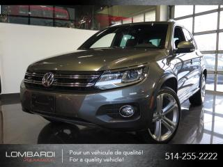 Used 2015 Volkswagen Tiguan HIGHLINE|R-LINE|FENDER|CUIR BRUN|NAVI| for sale in Montréal, QC