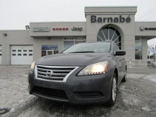 Used 2015 Nissan Sentra SV BLUETOOTH + SIÈGES CHAUFFANT + CAMÉRA for sale in Napierville, QC