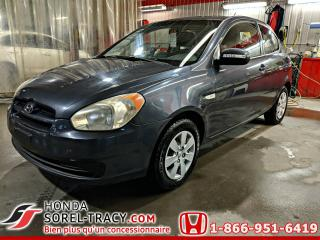Used 2010 Hyundai Accent Hayon 3 portes Automatique for sale in Sorel-Tracy, QC