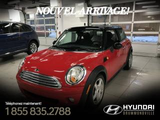 Used 2008 MINI Cooper CLASSIC + GARANTIE + MAGS + CRUISE + WOW for sale in Drummondville, QC