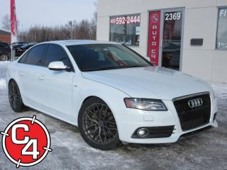 Used 2012 Audi A4 2.0T Premium S-LINE for sale in St-Jérôme, QC