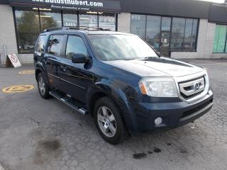 Used 2010 Honda Pilot EX-L 4WD **8 PLACES** for sale in St-Hubert, QC