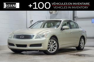 Used 2007 Infiniti G35X AWD for sale in Montréal, QC