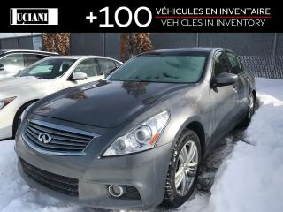 Used 2010 Infiniti G37 X Awd, Cuir, 328hp for sale in Montréal, QC
