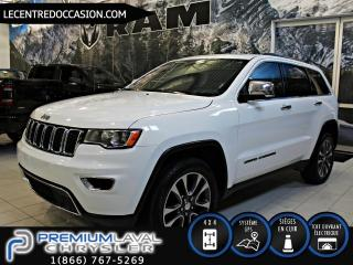 Used 2018 Jeep Grand Cherokee LIMITED 4X4*CUIR/TOIT/NAV* for sale in Laval, QC