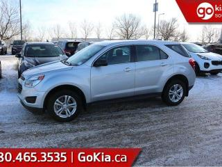 Used 2016 Chevrolet Equinox LS; BLUETOOTH, BACKUP CAM, AIR CONDITIONING AND MORE for sale in Edmonton, AB