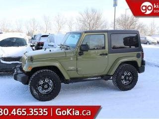 Used 2013 Jeep Wrangler SAHARA; BEAUTIFUL JEEP, GREAT TIRES, BLUETOOTH, 4X4 AND MORE for sale in Edmonton, AB