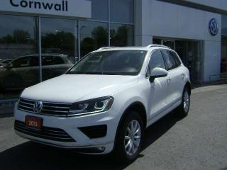 Used 2015 Volkswagen Touareg Comfortline 4dr AWD 4MOTION for sale in Cornwall, ON